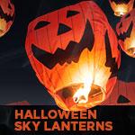 Halloween Sky Lanterns