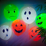 Halloween Fun with Light-Up Balloons