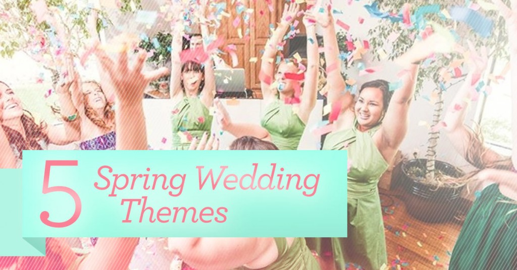 5 Spring Wedding Themes