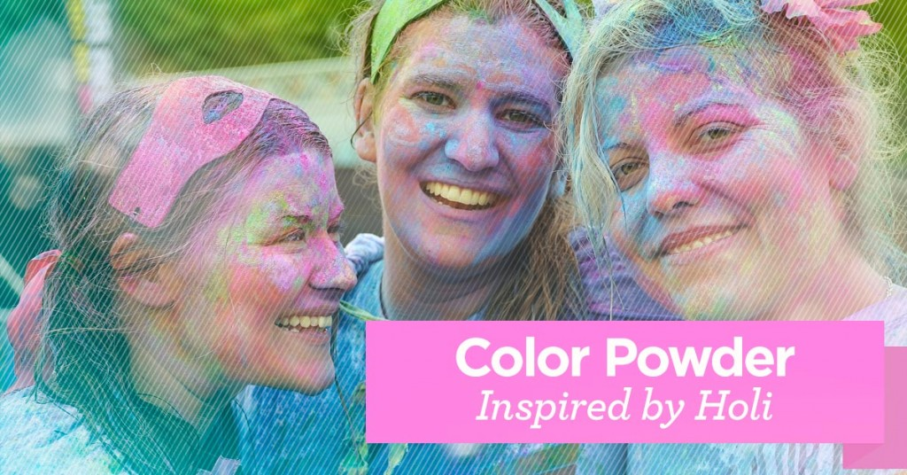 Color Powder: Inspired by Holi