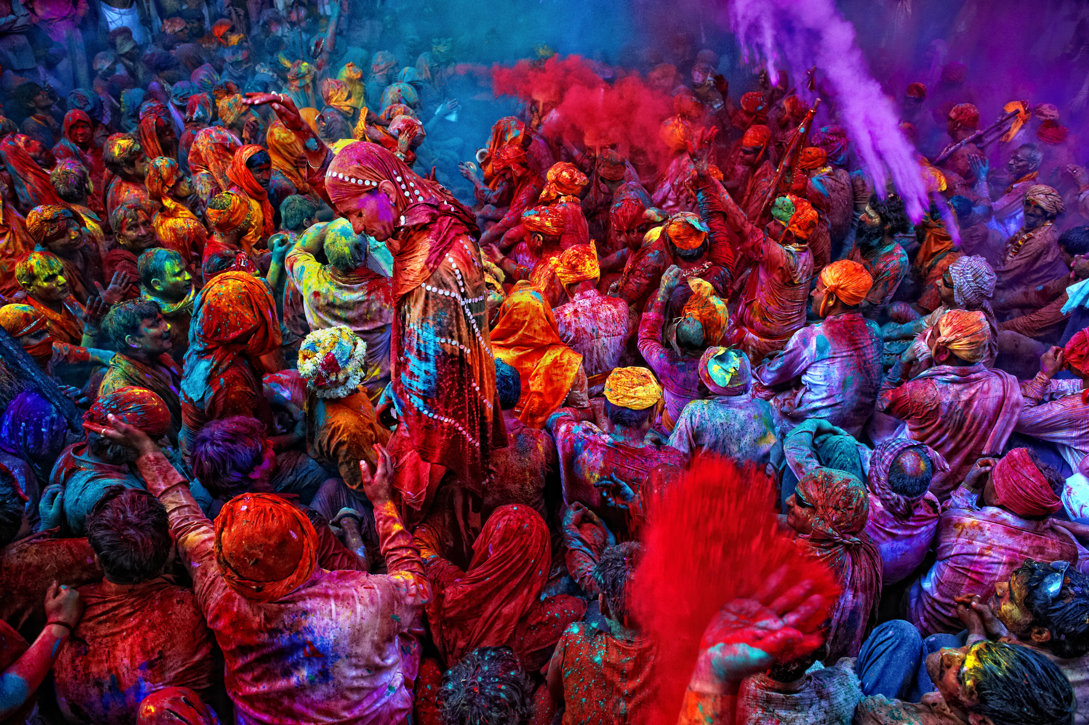 Holi colors powder