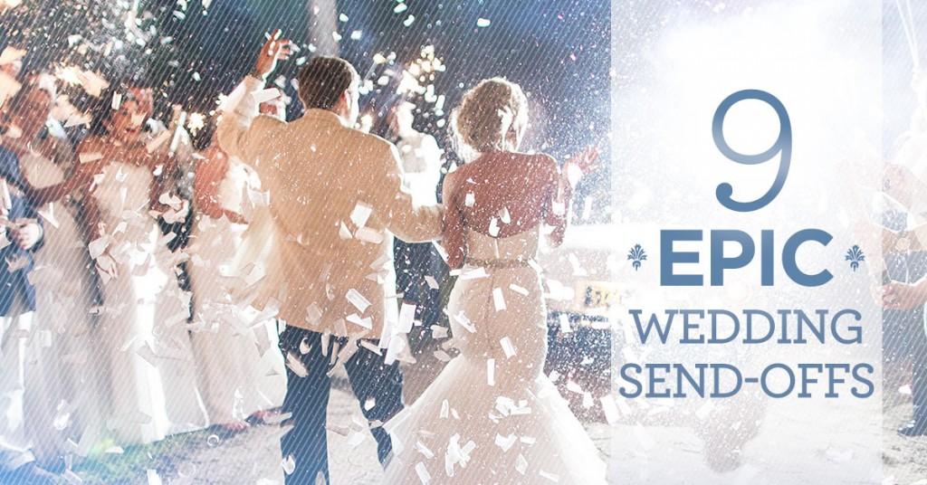 9 Epic Wedding Send-Offs