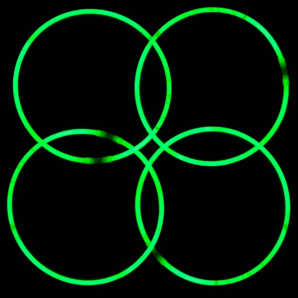 St. Patrick's Day Glow Necklaces and Bracelets