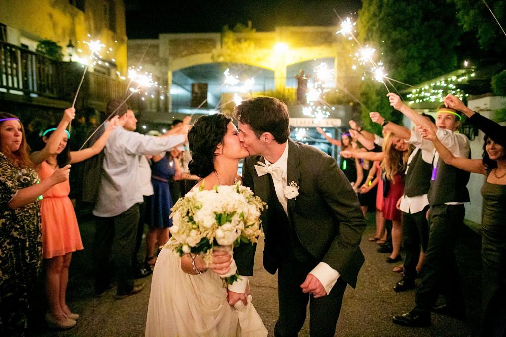 Karley & Ryan's Fun Wedding Send-Off | Photo by CHARDphotographer
