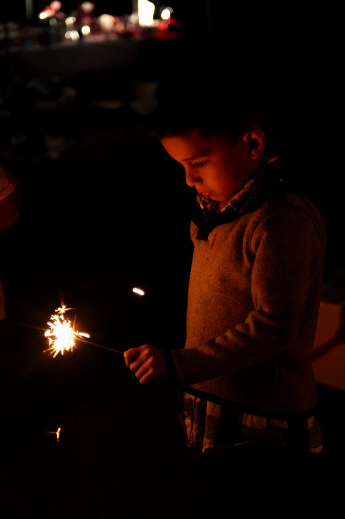 Color sparklers: perfect for your kids to enjoy on the 4th of July