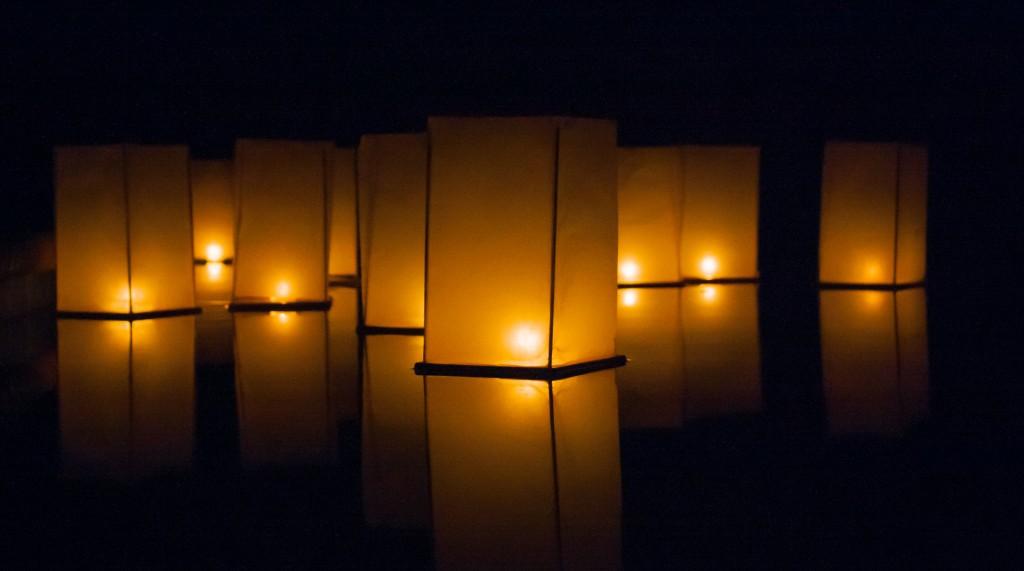 White Floating Water Lanterns