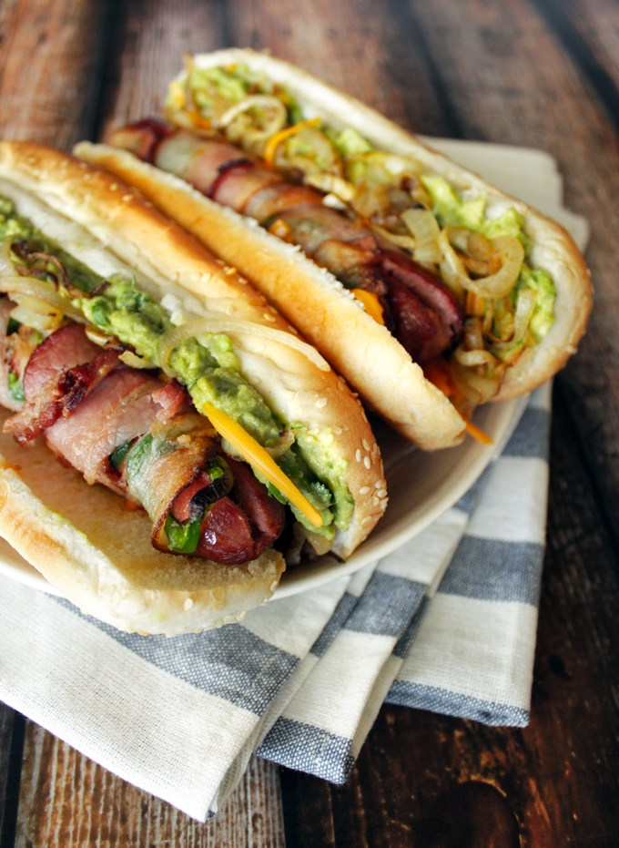 Bacon Jalapeno Hot Dogs