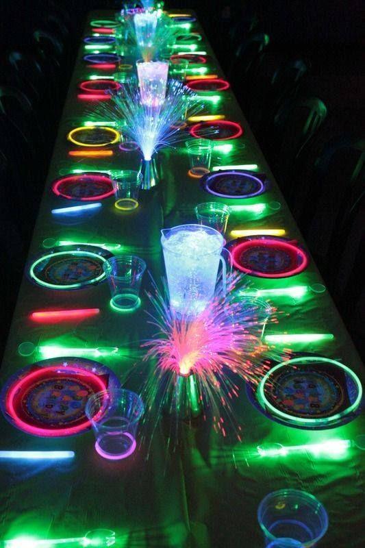 Neon Glow in the Dark
