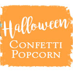 Halloween Confetti Popcorn