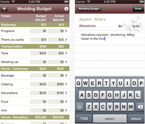 Best Wedding Planning Apps Source Budget