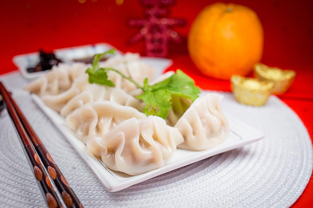 Chinese New Year Dumplings