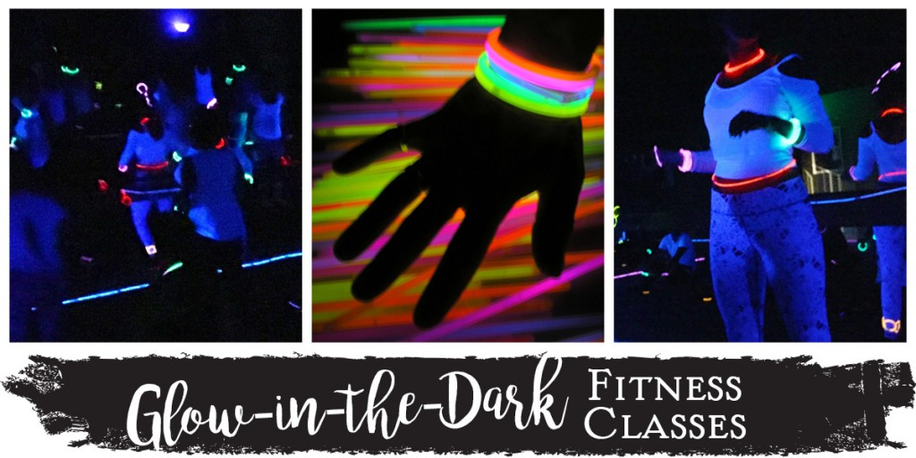 Glow-in-the-Dark Fitness Classes