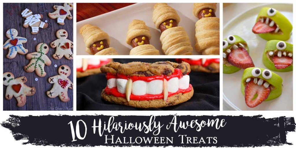 10 Hilariously Awesome Halloween Treats