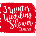 3 Winter Wedding Shower Ideas