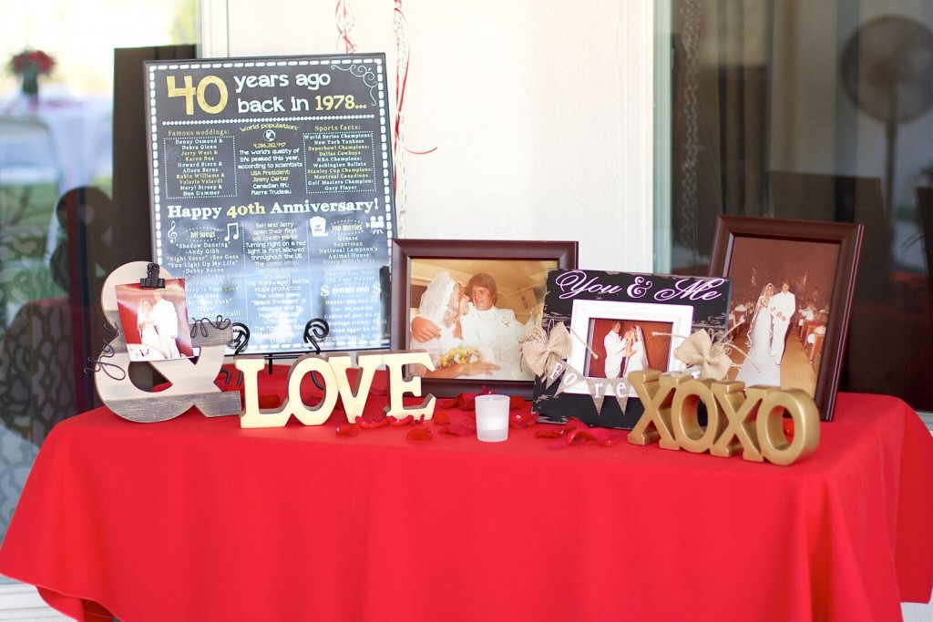 Featured Anniversary Party: Jack and Leann