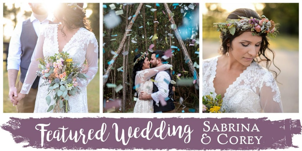 Featured Wedding: Sabrina & Corey