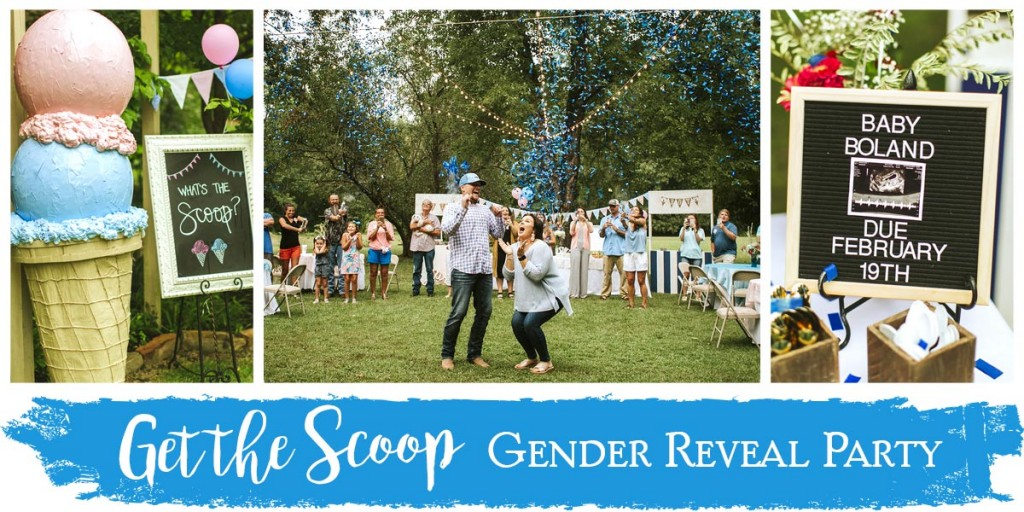 """Get the Scoop"" Gender Reveal Party"