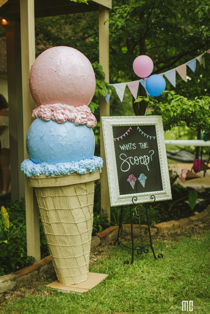 Get the Scoop Gender Reveal Party