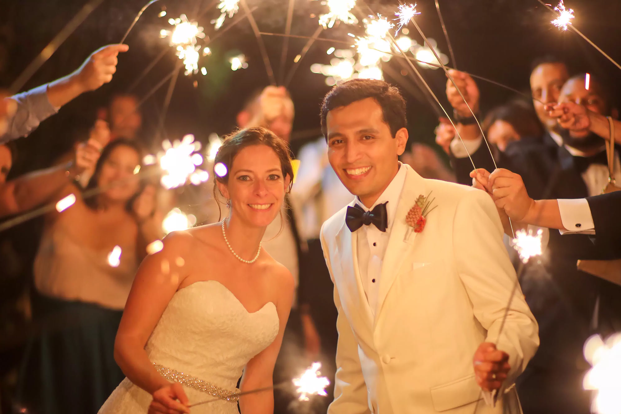 36 Gold Sparklers Long Sparklers for Weddings and Celebrations