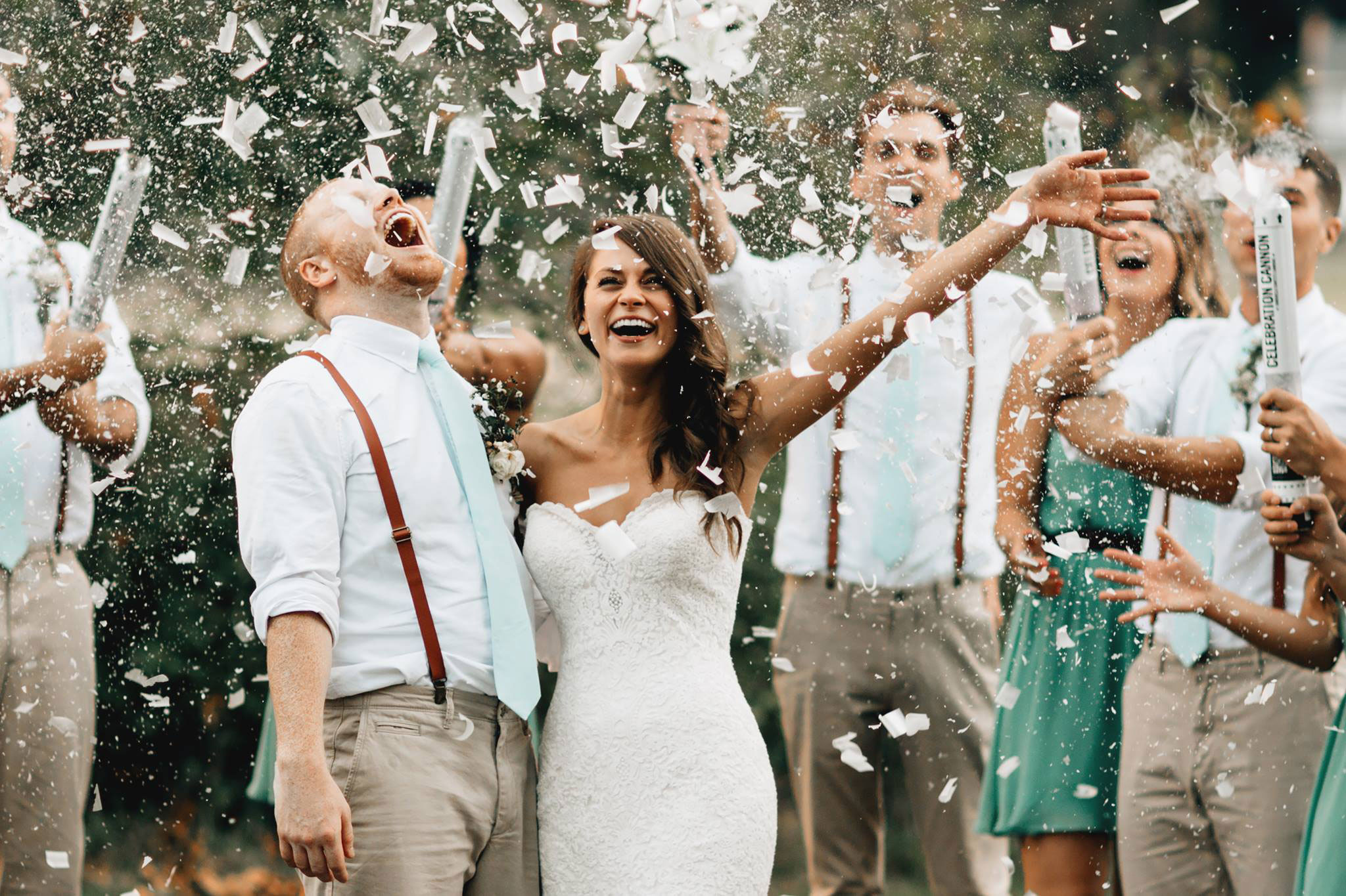 Color Powder Gender Reveal >> Wedding Confetti Cannon – Superior Celebrations