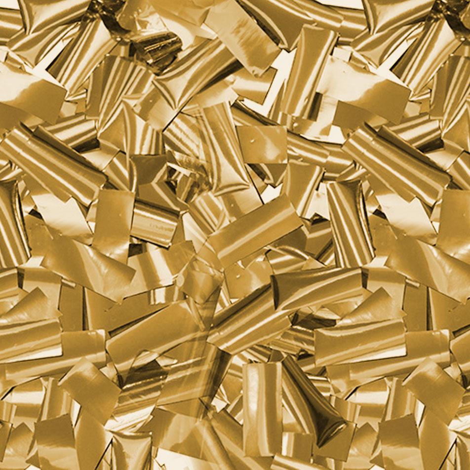 Gold Metallic Confetti Cannon – Superior Celebrations